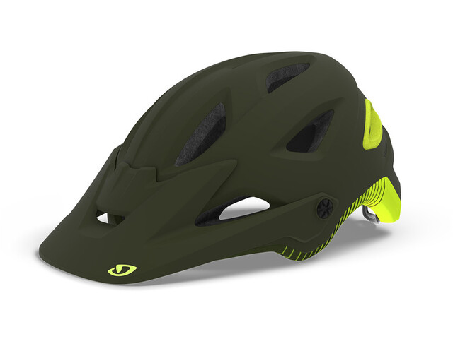 Giro Montaro MIPS Kask rowerowy, matte olive/citron